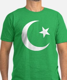 Pakistan Men's Fitted T-Shirt (dark)