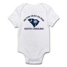 Hilton Head Island - Map Design Onesie