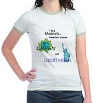 I'm a Moderate Jr. Ringer T-Shirt