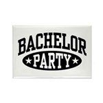 Bachelor Party Rectangle Magnet