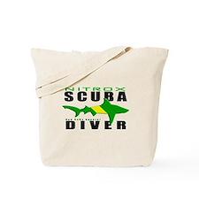 Scuba Diver: Nitrox Shark Tote Bag