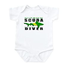Scuba Diver: Nitrox Shark Infant Bodysuit