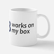 """Works On My Box"" Mug"