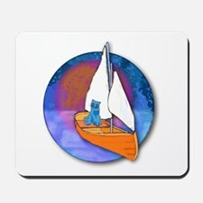 Sail Cat Mousepad