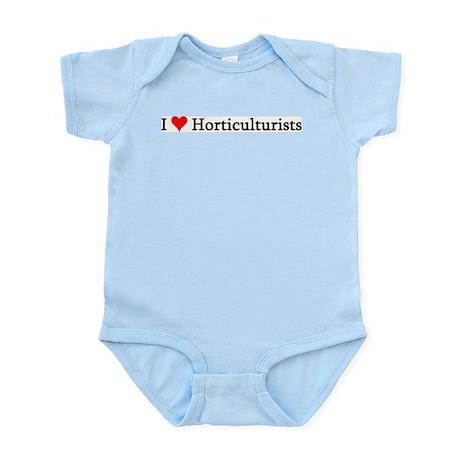 I Love Horticulturists Infant Creeper