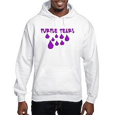 PURPLE TEARS Hoodie Sweatshirt