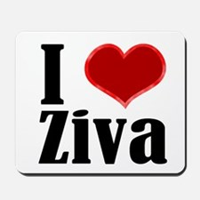 Love ziva Mousepad