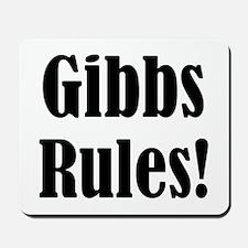 Gibbs Rules! Mousepad
