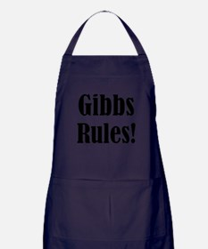 Gibbs Rules! Apron (dark)