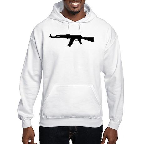 Rifle AK 47 Hooded Sweatshirt