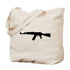 Rifle AK 47 Tote Bag