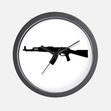 Rifle AK 47 Wall Clock