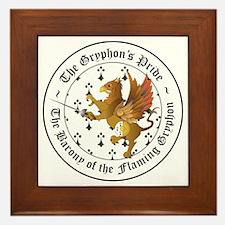 Gryphon's Pride Rapier Framed Tile