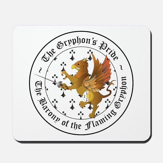 Gryphon's Pride Rapier Mousepad