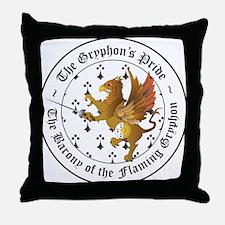 Gryphon's Pride Rapier Throw Pillow