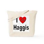 I Love Haggis Tote Bag