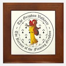Gryphon's Pride Valkyrie Framed Tile