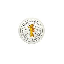 Gryphon's Pride Valkyrie Gold Mini Button