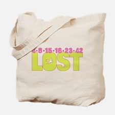 4 8 15 16 23 42 Green Tote Bag