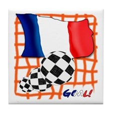 Goal France! Tile Coaster