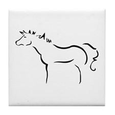 Wind Horse Art Tile