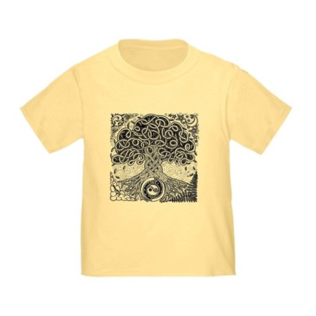 Celtic Tree of Life Ink Toddler T-Shirt