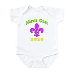 Mardi Gras Infant Bodysuit