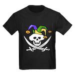 Mardi Gras Kids Dark T-Shirt