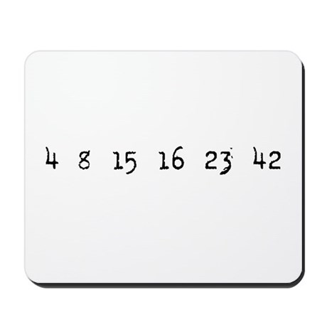 4815162342 LOST Numbers Mousepad