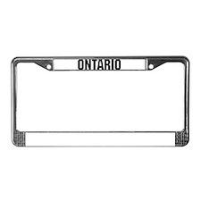 Ontario, Oregon License Plate Frame