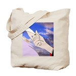 Luke and Zeldah - hands Tote Bag