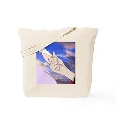 Luke and Zeldah - hands Tote Bag