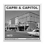 Capri & Capitol Theater Tile Coaster