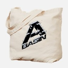 A-Basin Snow Capped Logo Tote Bag