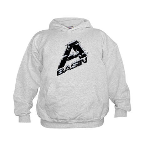 A-Basin Snow Capped Logo Kids Hoodie