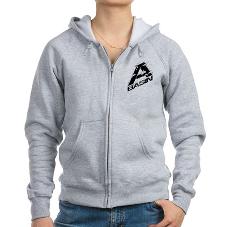 A-Basin Snow Capped Logo Women's Zip Hoodie