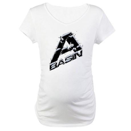 A-Basin Snow Capped Logo Maternity T-Shirt