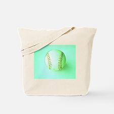 I Love Baseball Artistic Tote Bag