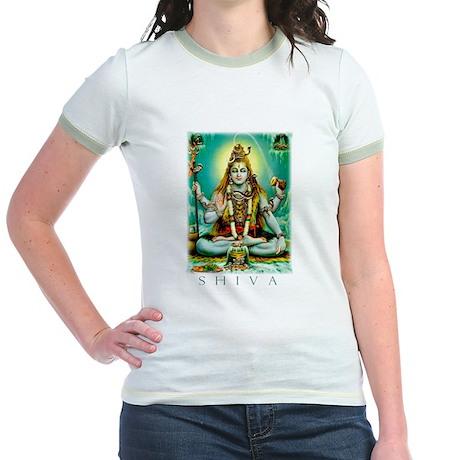 Emerald Lord Shiva Jr. Ringer T-Shirt