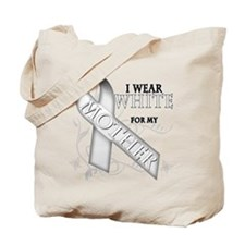 I Wear White for my Mother Tote Bag