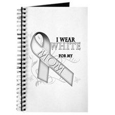 I Wear White for my Mom Journal