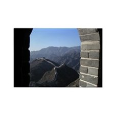 Great Wall of China Rectangle Magnet