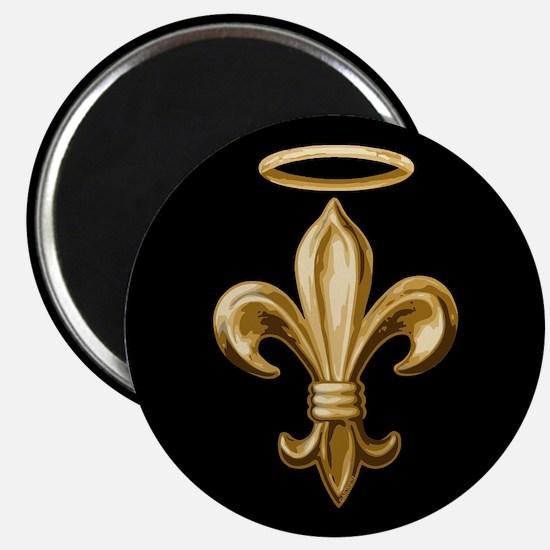 Gold Fleur de lis Talisman Magnet
