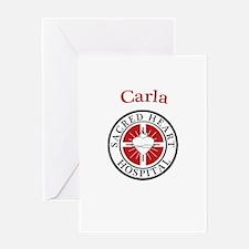 Carla Greeting Card
