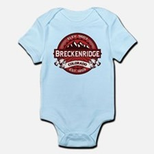 Breckenridge Red Infant Bodysuit