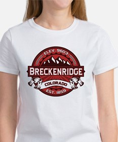 Breckenridge Red Tee