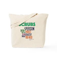 Scrubs Elliot Quote Tote Bag
