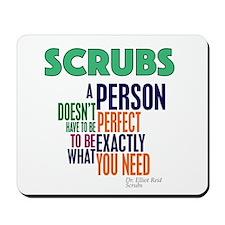Scrubs Elliot Quote Mousepad