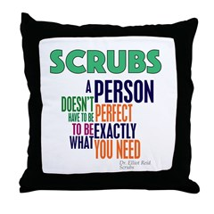 Scrubs Elliot Quote Throw Pillow