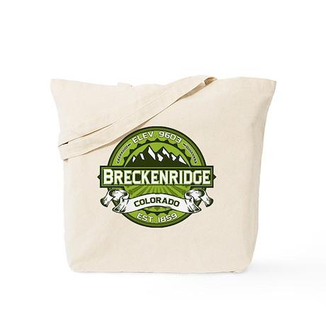 Breckenridge Green Tote Bag